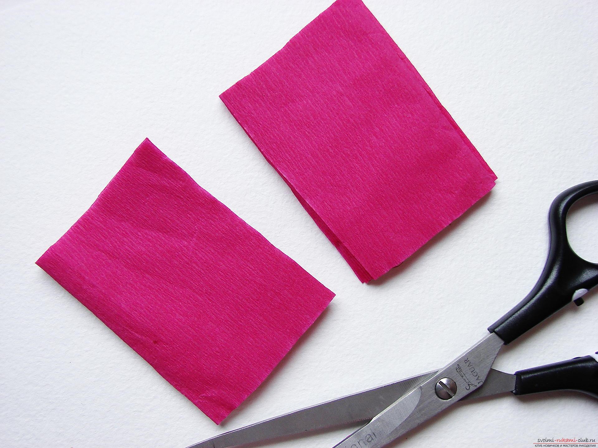 Этот мастер-класс научит как сделать цветы гладиолусы из бумаги своими руками.. Фото №4