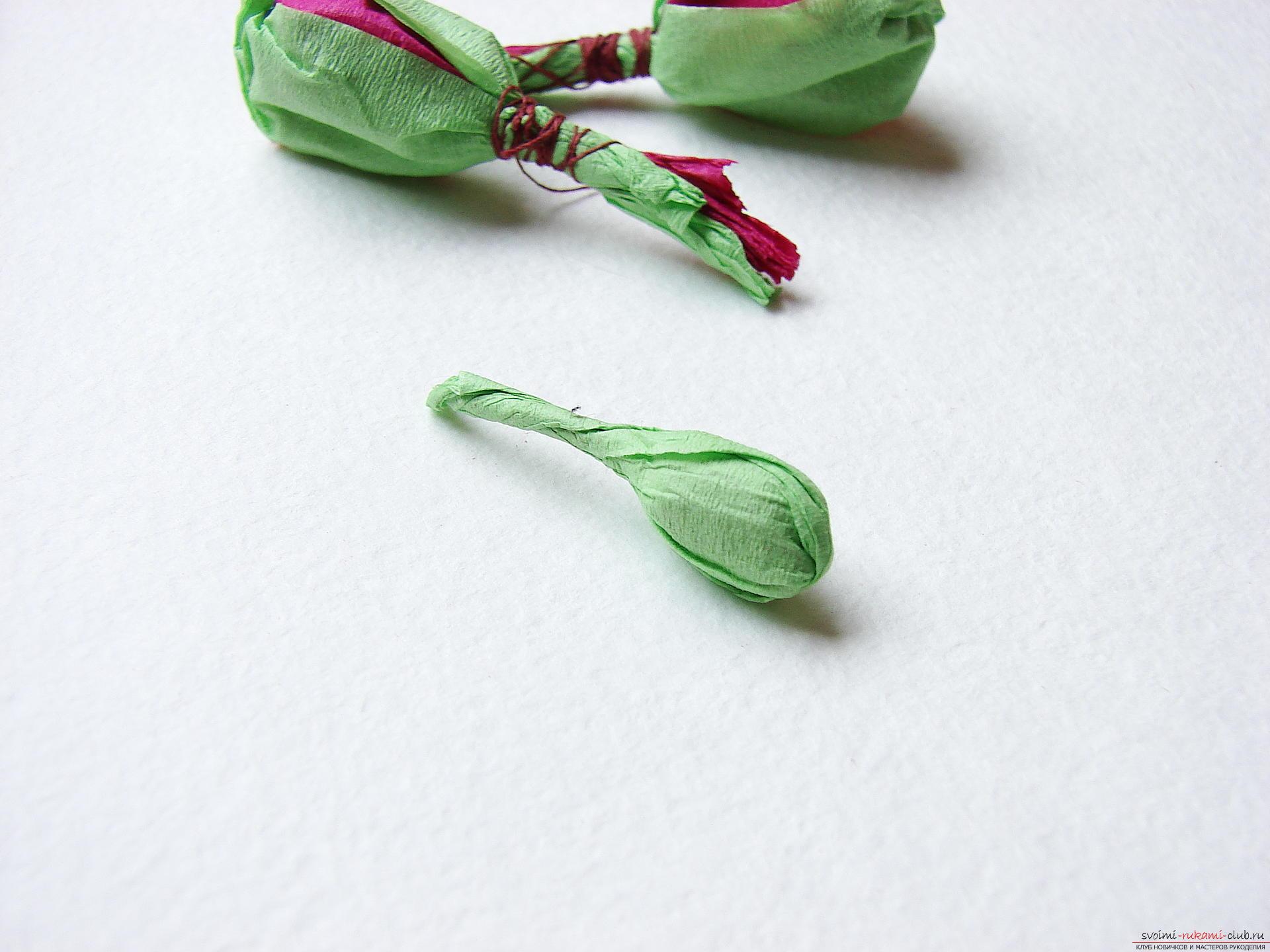 Этот мастер-класс научит как сделать цветы гладиолусы из бумаги своими руками.. Фото №18