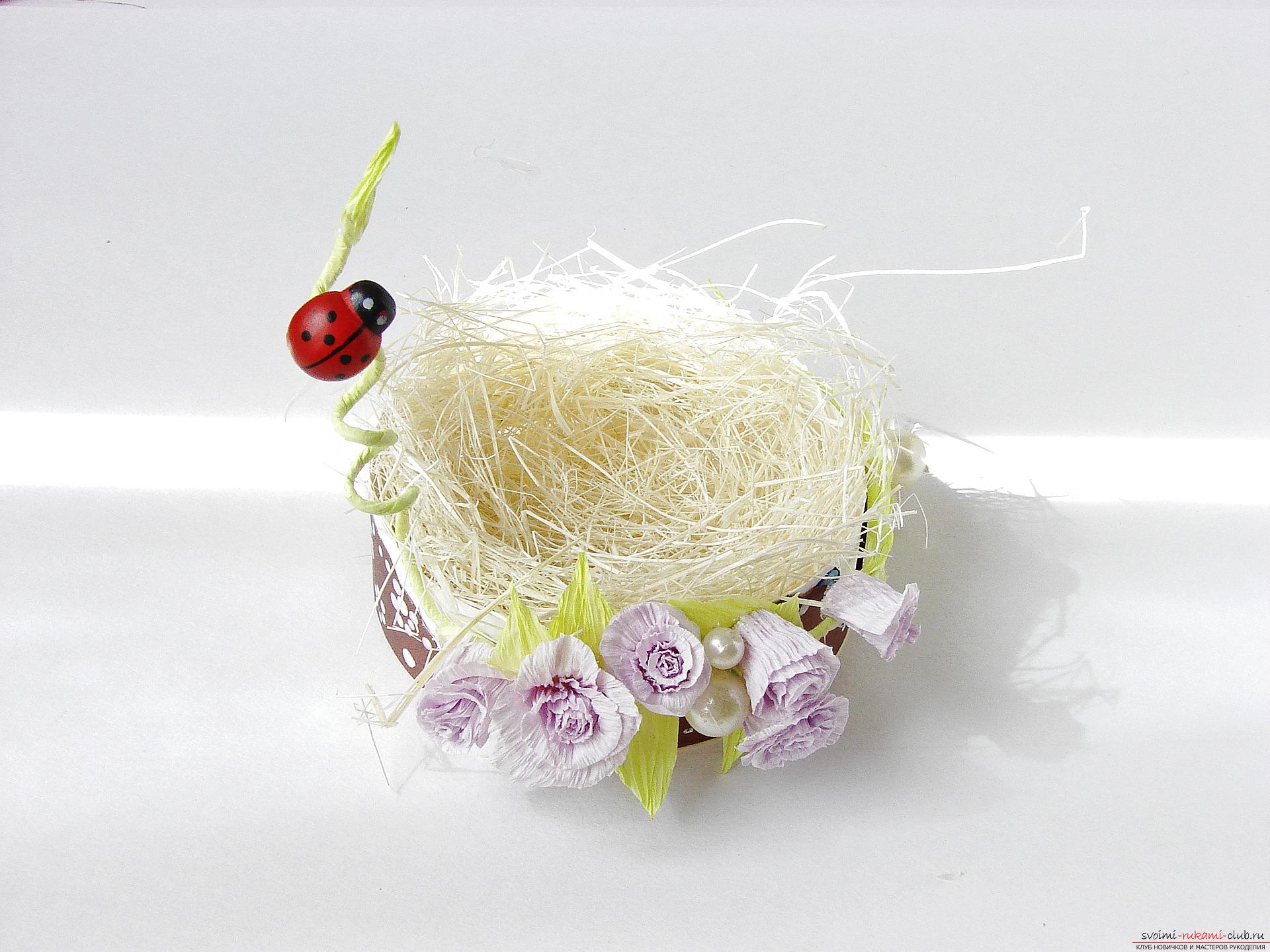 Этот подробный мастер-класс с фото и описанием научит как сделать подставки для пасхальных яиц своими руками.. Фото №26