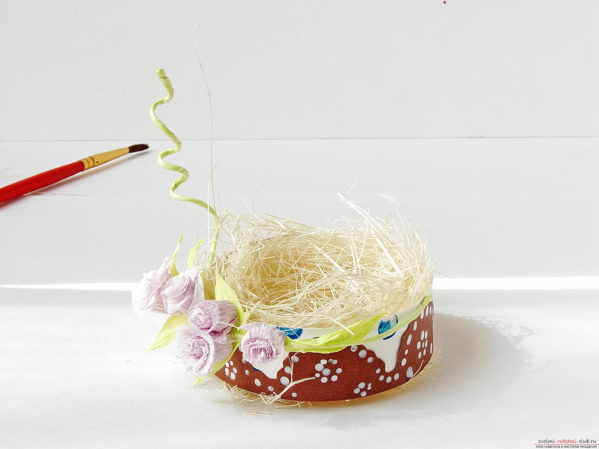 Этот подробный мастер-класс с фото и описанием научит как сделать подставки для пасхальных яиц своими руками.. Фото №25