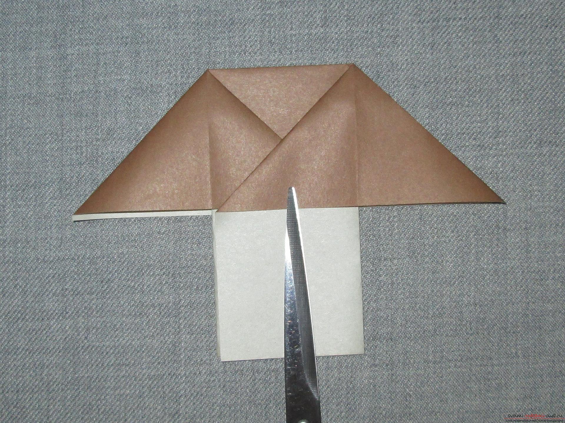 Оригами гриб мухомор схема фото 311