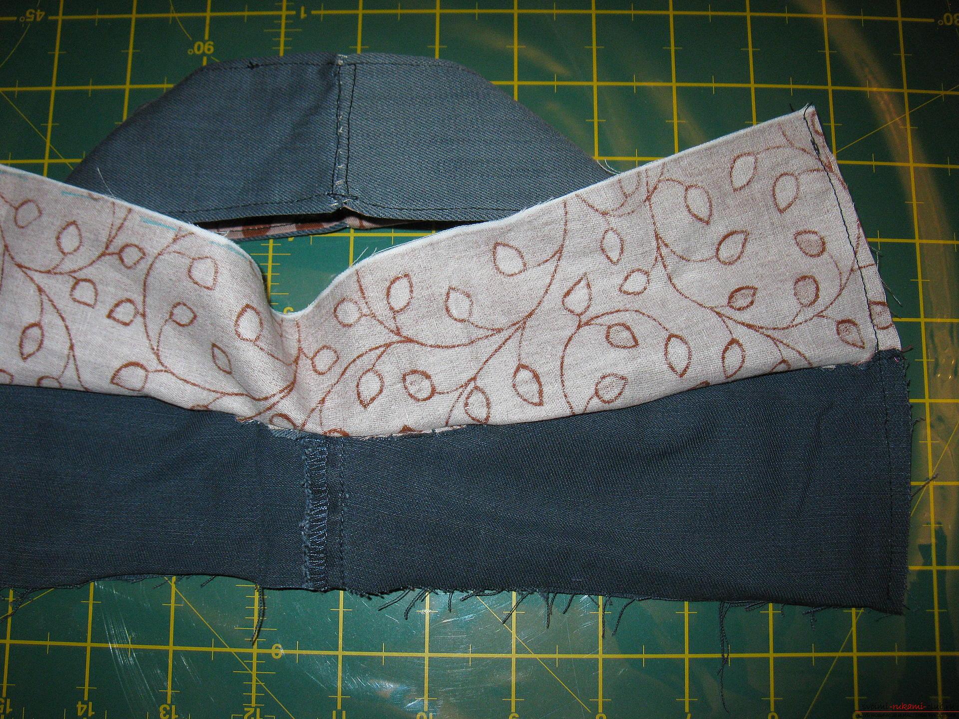 Пошаговые фото к уроку по пошиву хозяйственной сумки. Фото №11