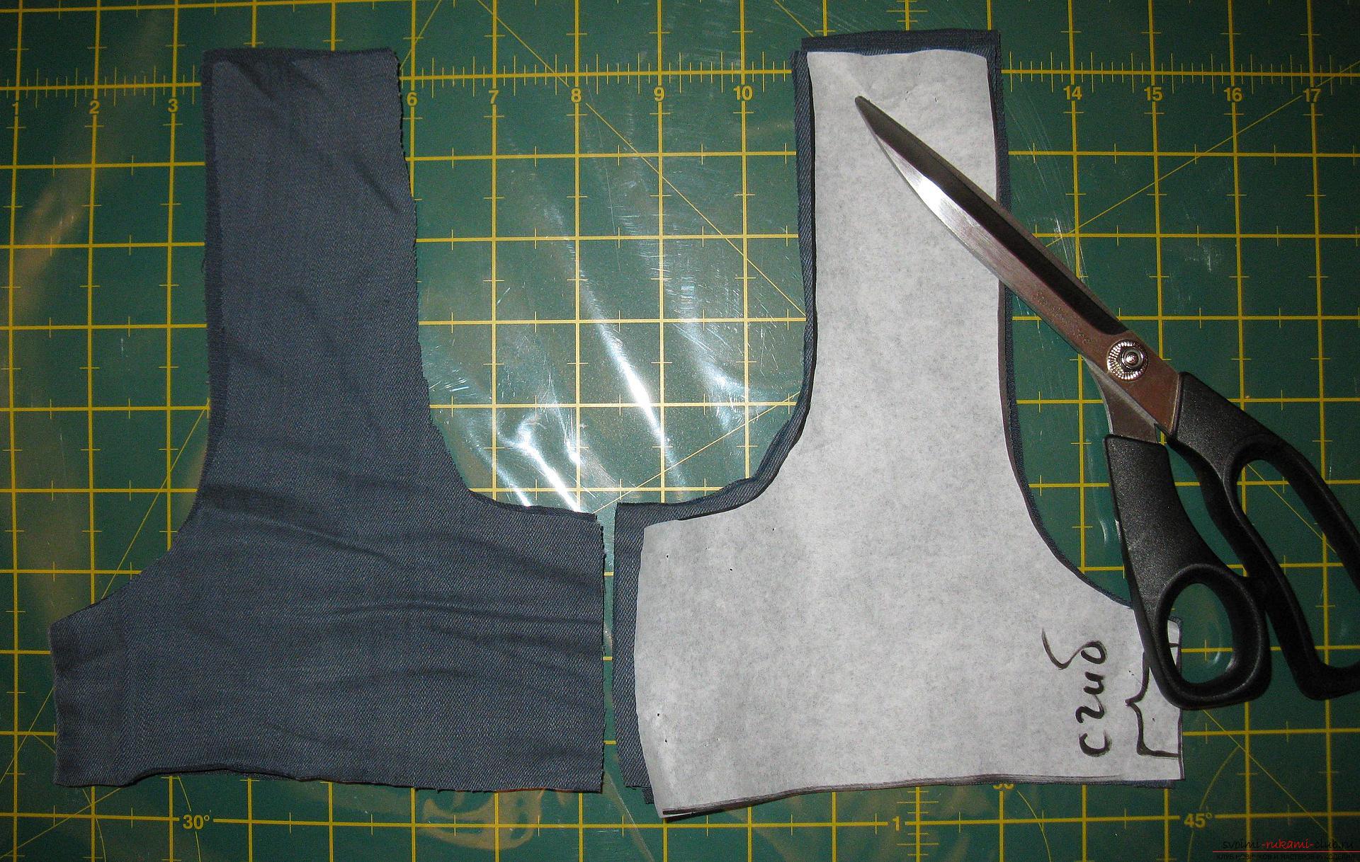 Пошаговые фото к уроку по пошиву хозяйственной сумки. Фото №1