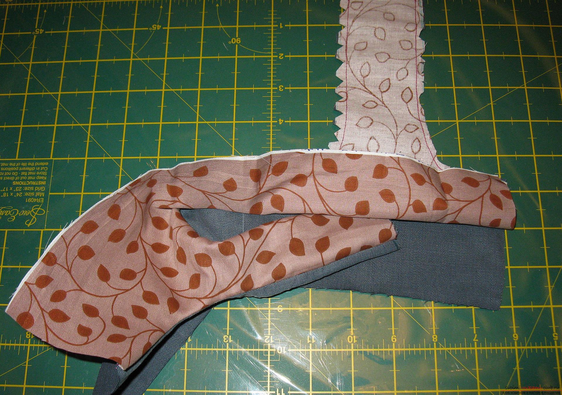 Пошаговые фото к уроку по пошиву хозяйственной сумки. Фото №6