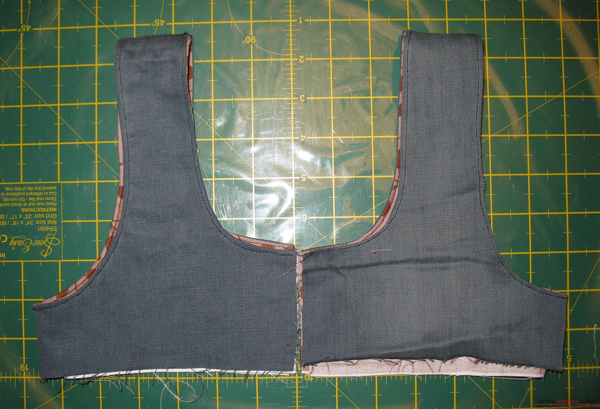 Пошаговые фото к уроку по пошиву хозяйственной сумки. Фото №9