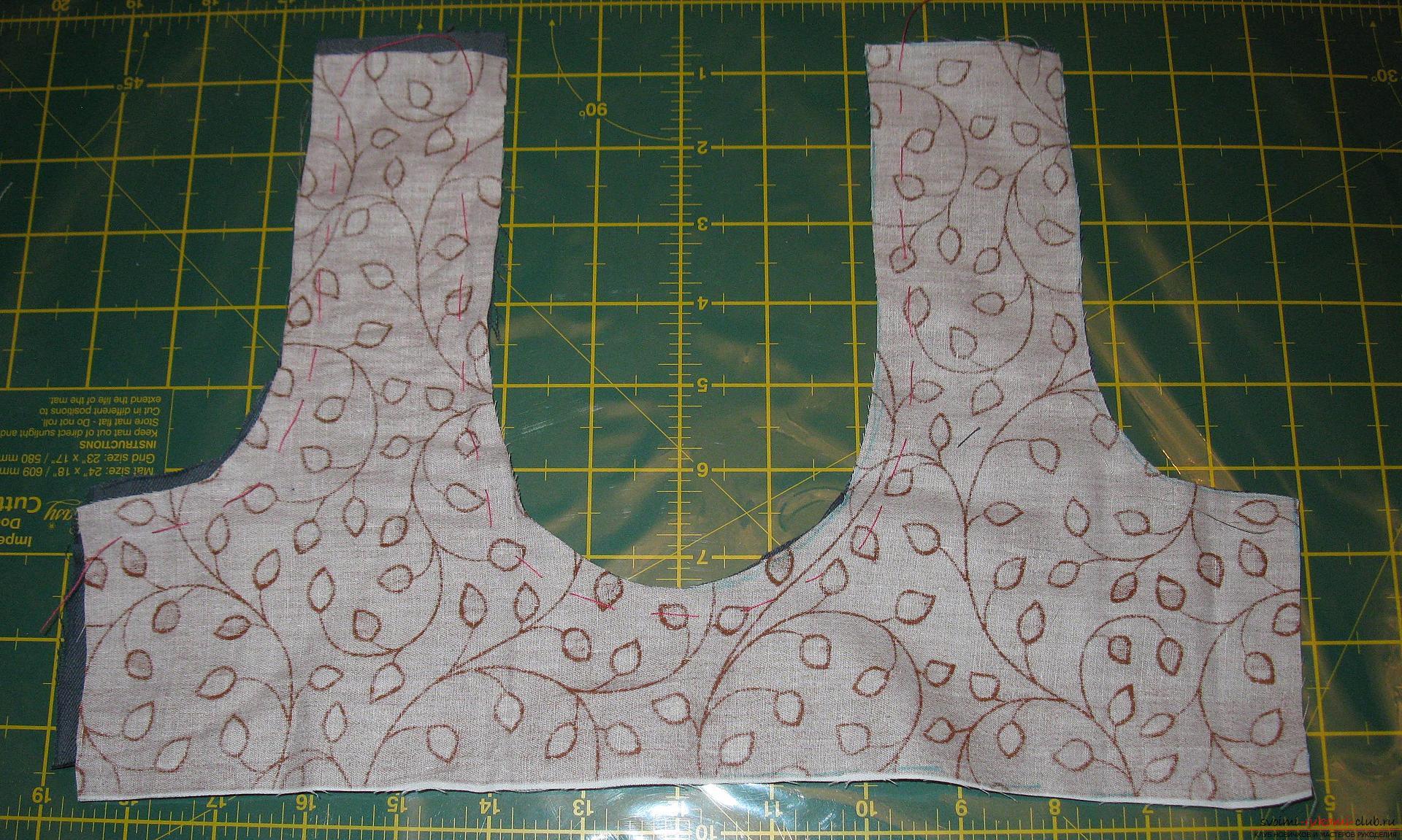 Пошаговые фото к уроку по пошиву хозяйственной сумки. Фото №3