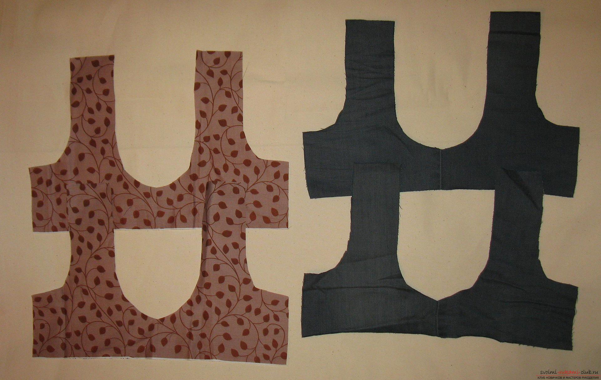 Пошаговые фото к уроку по пошиву хозяйственной сумки. Фото №2
