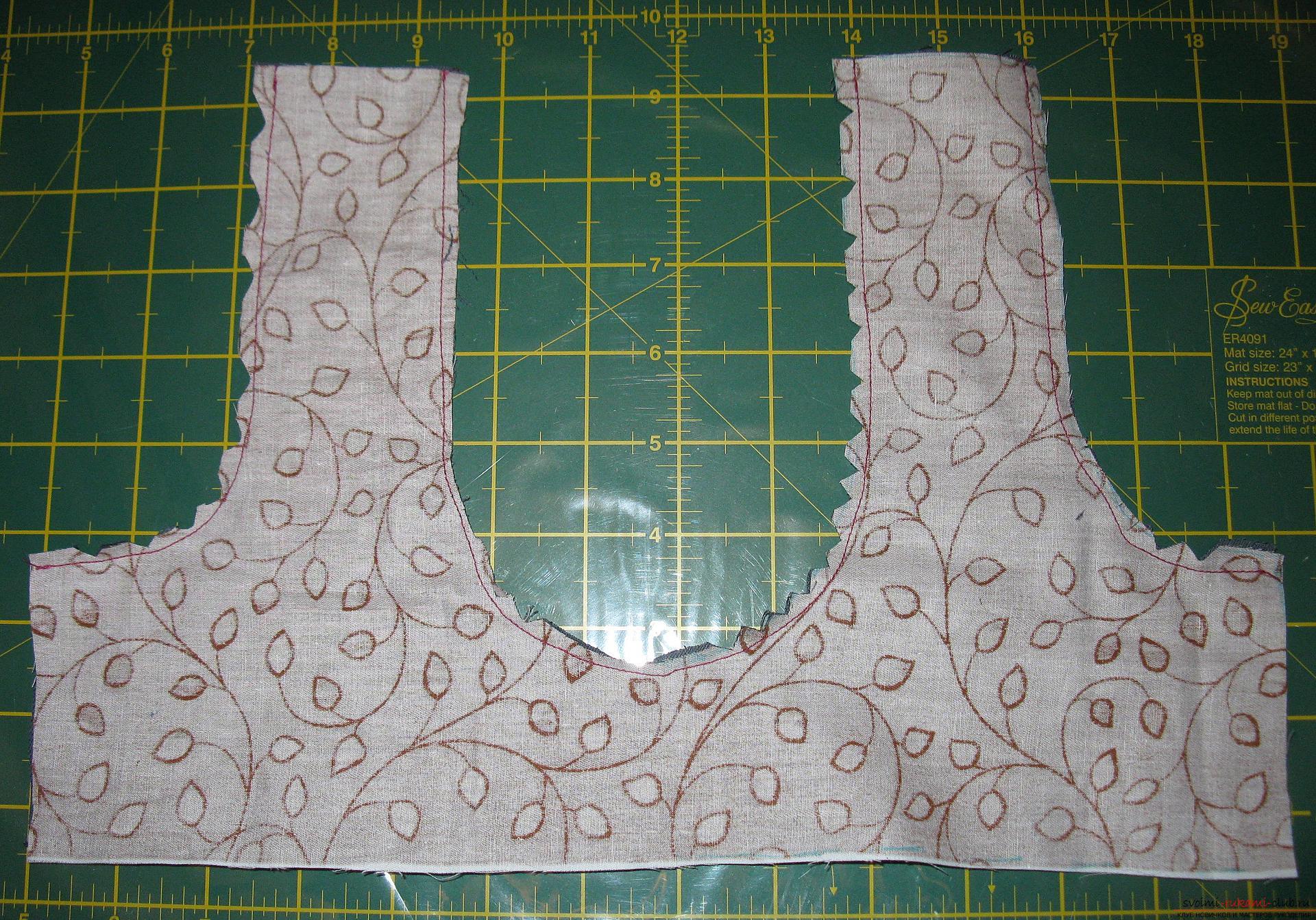 Пошаговые фото к уроку по пошиву хозяйственной сумки. Фото №4