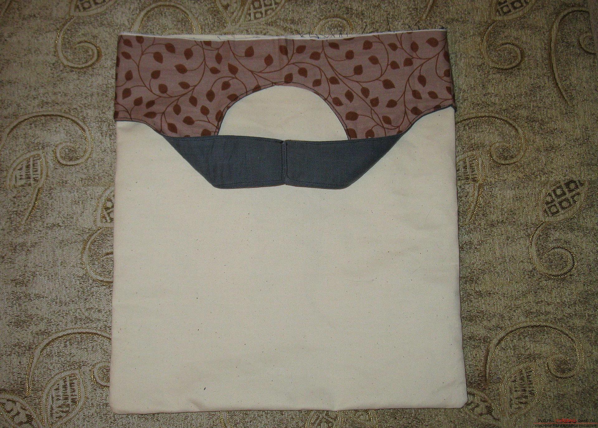 Пошаговые фото к уроку по пошиву хозяйственной сумки. Фото №13