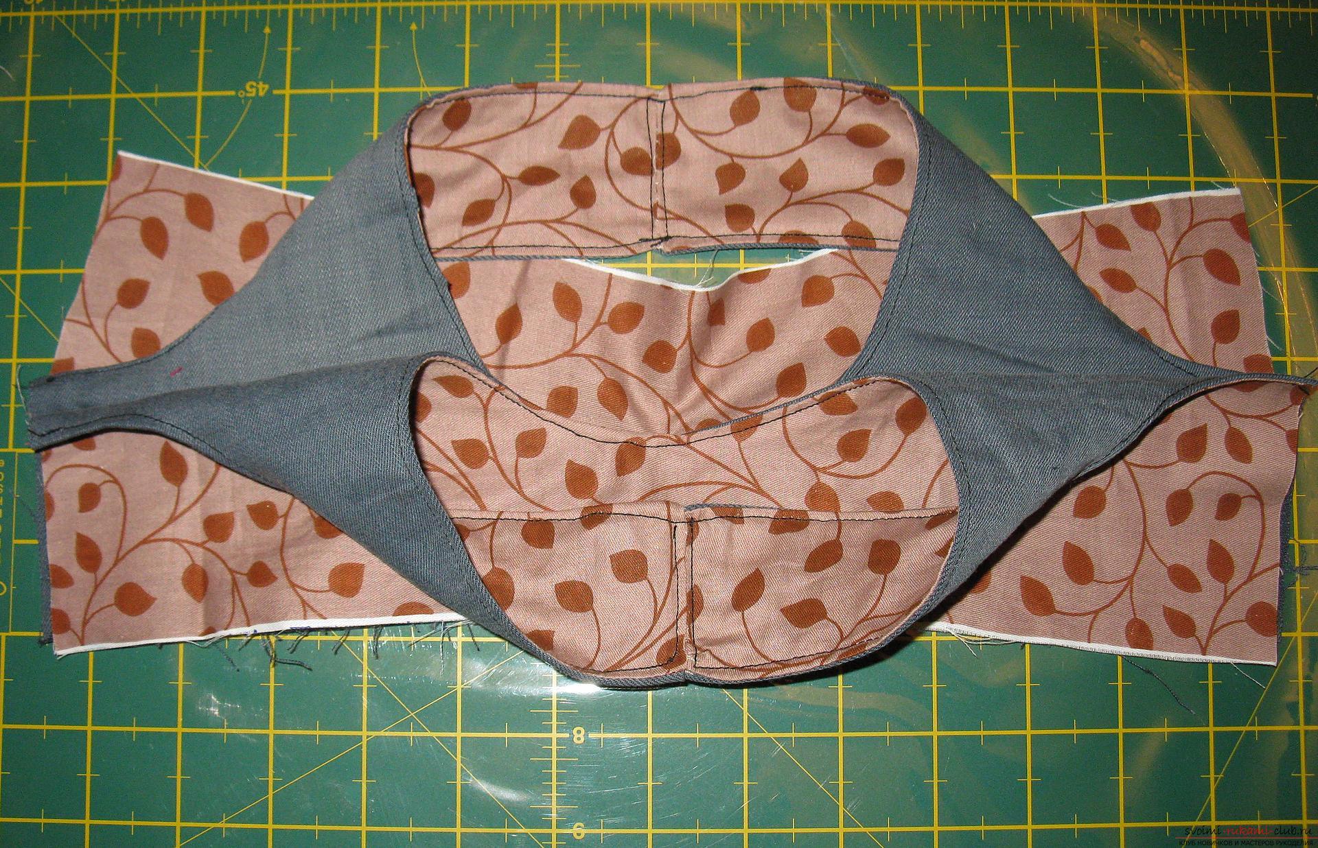 Пошаговые фото к уроку по пошиву хозяйственной сумки. Фото №10