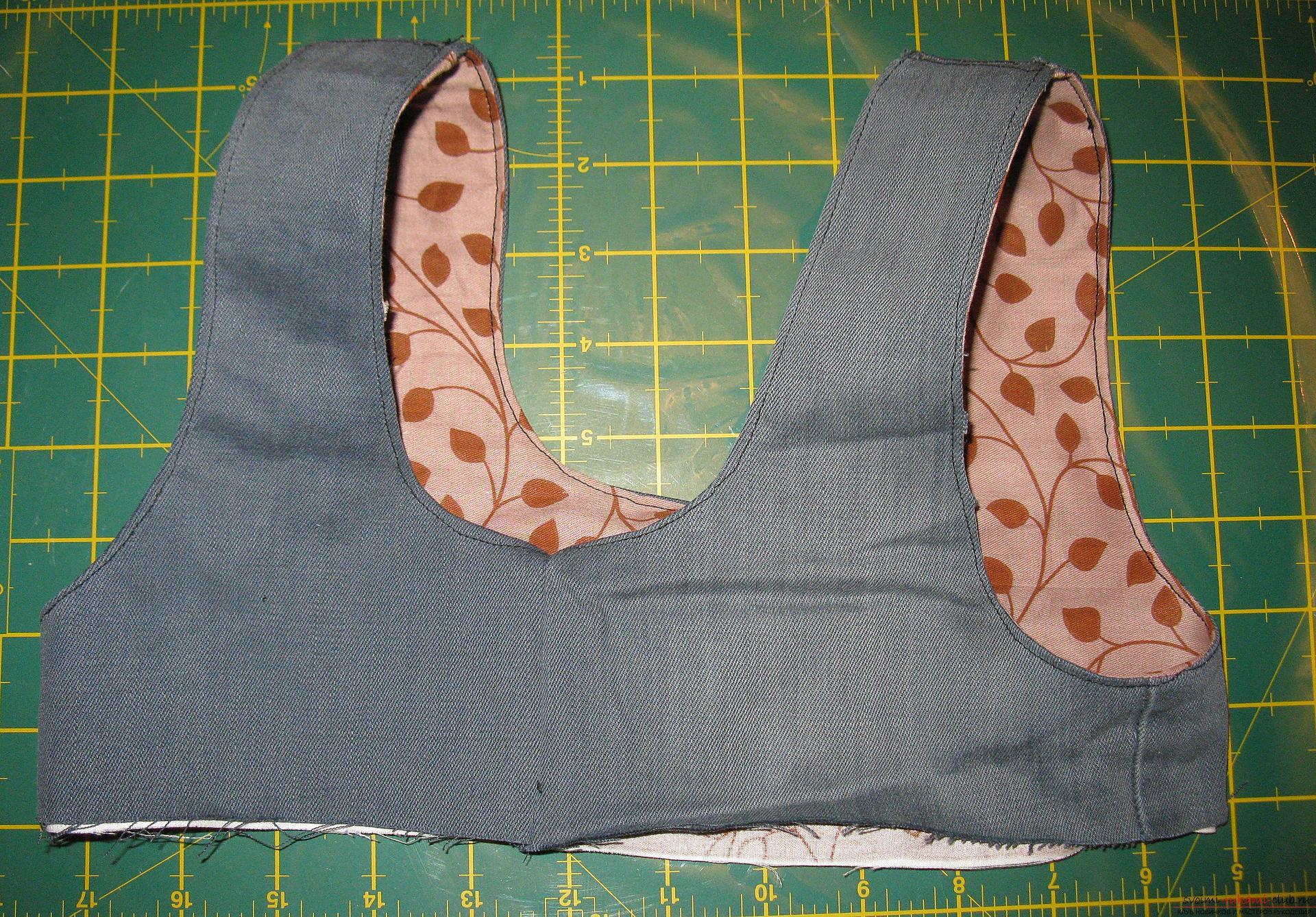 Пошаговые фото к уроку по пошиву хозяйственной сумки. Фото №12