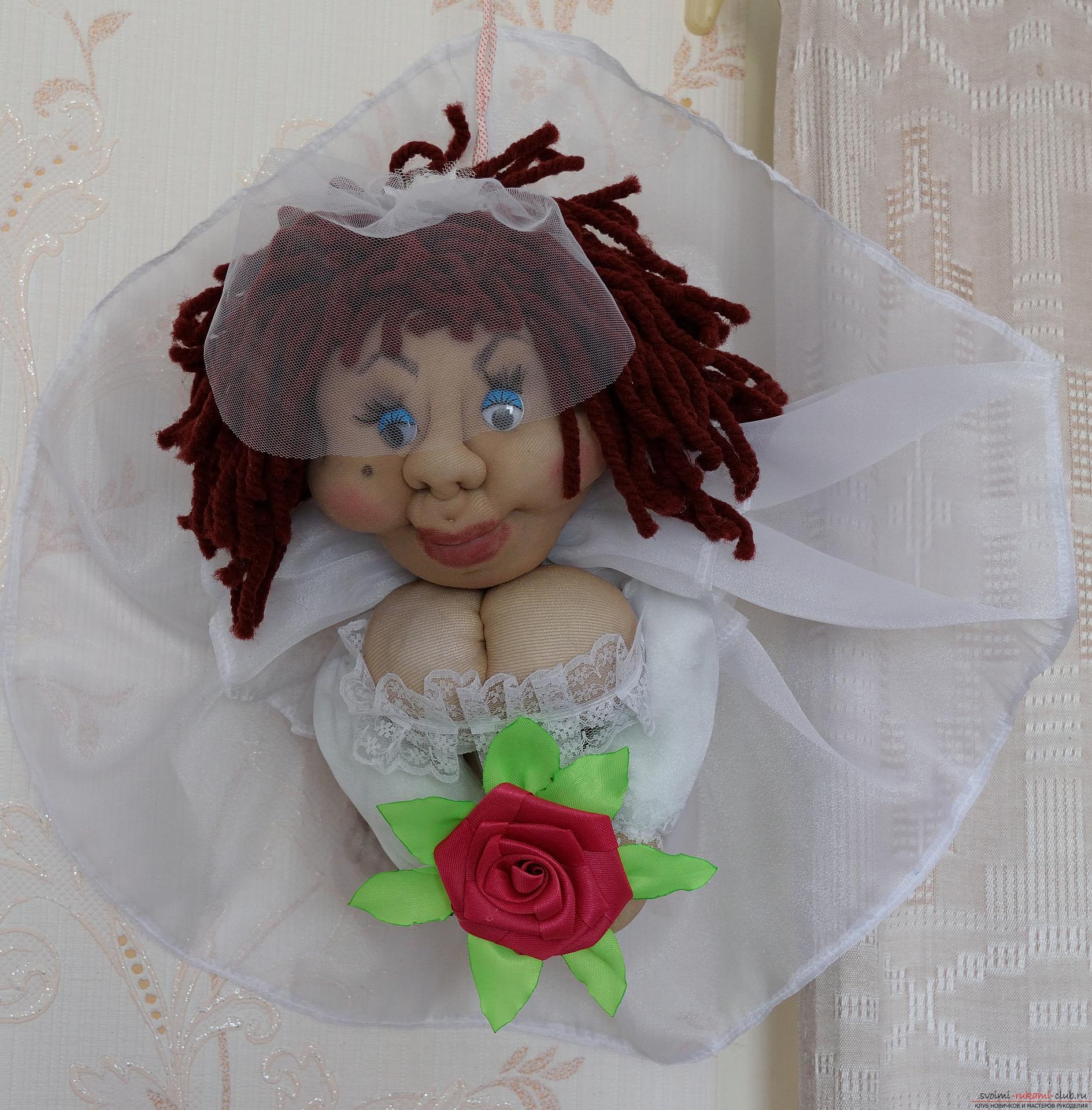 Куклы из мешковины своими руками фото