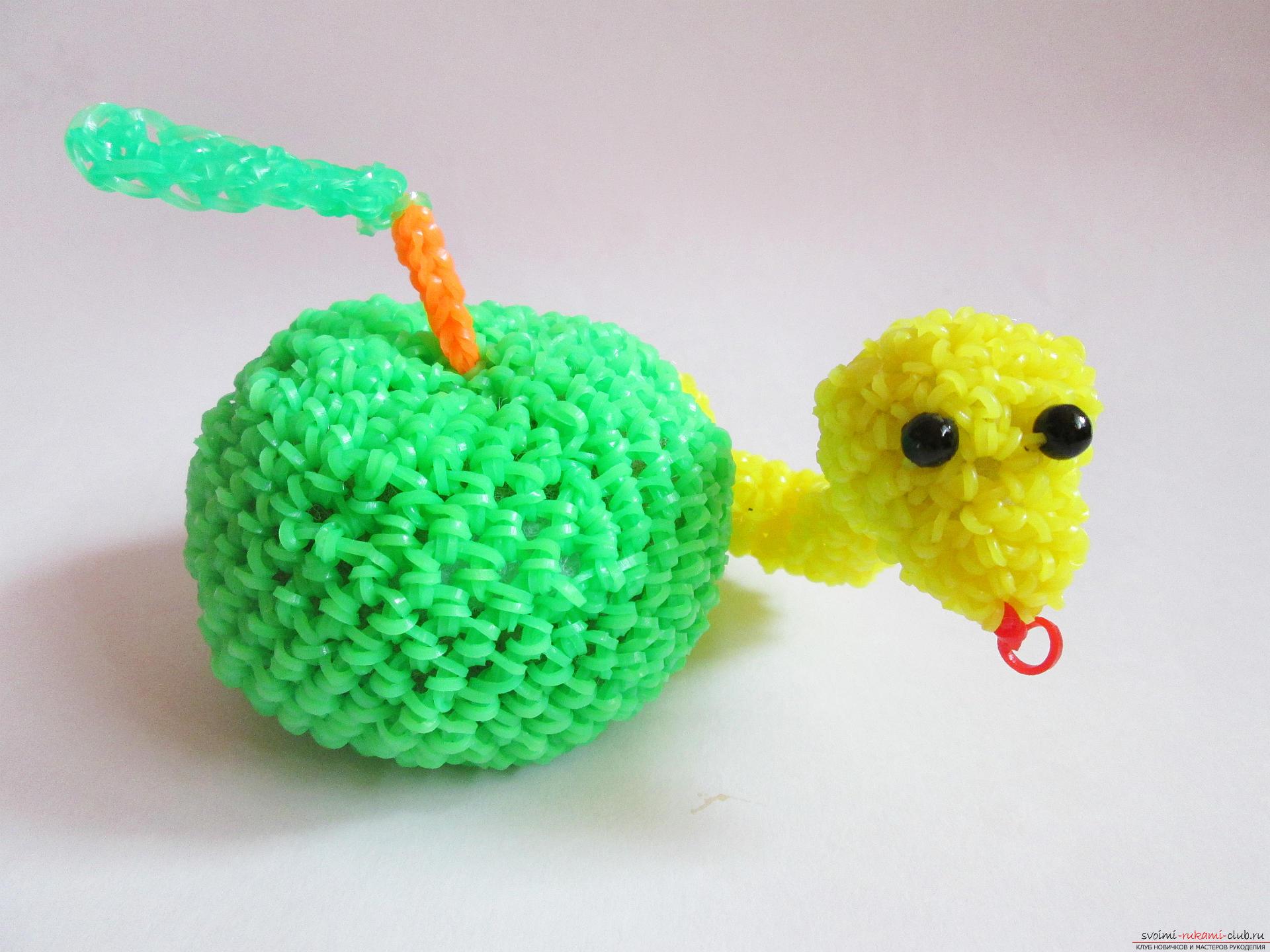Амигуруми плетение из резинок
