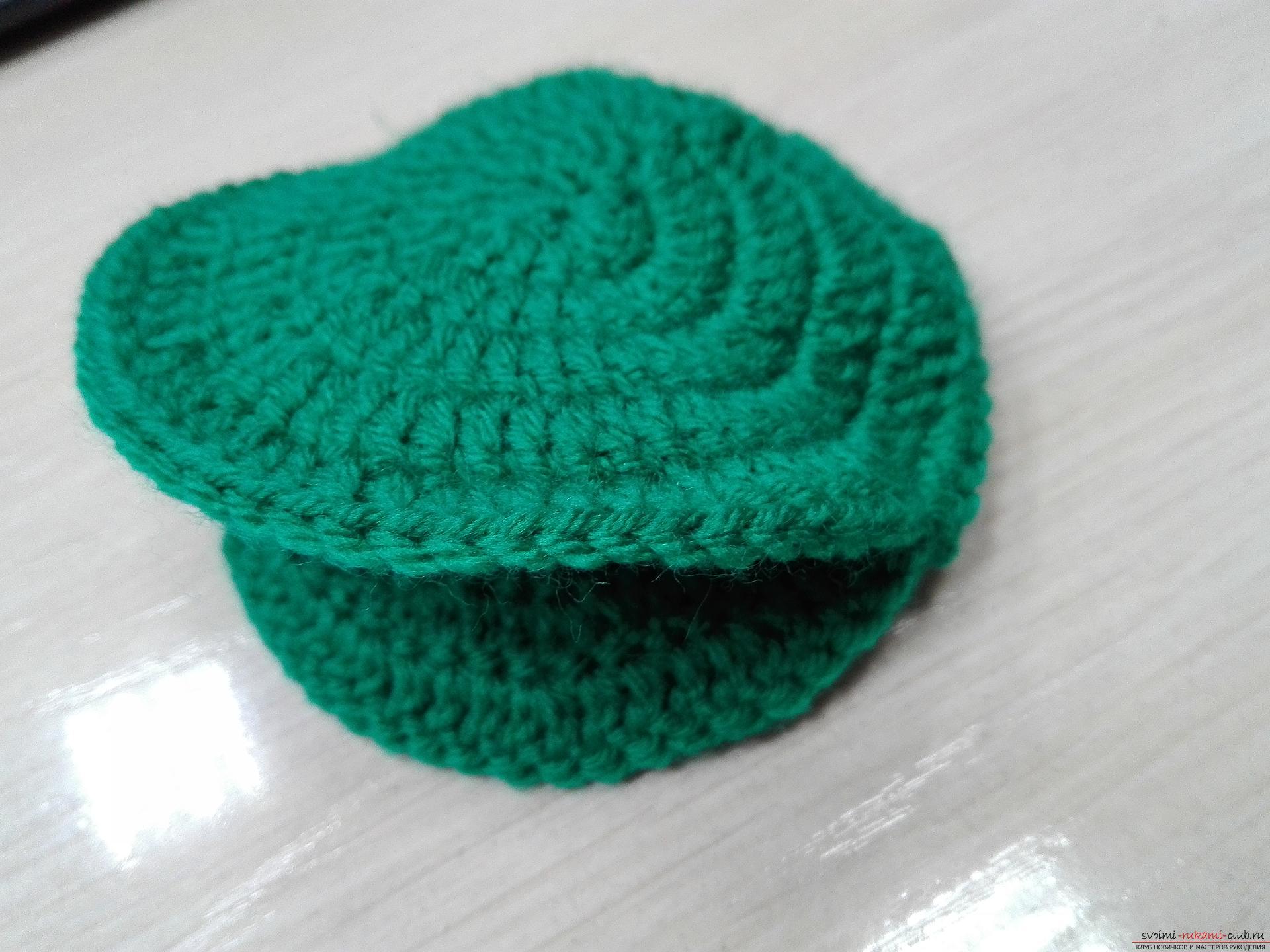 Описание вязания игольницы