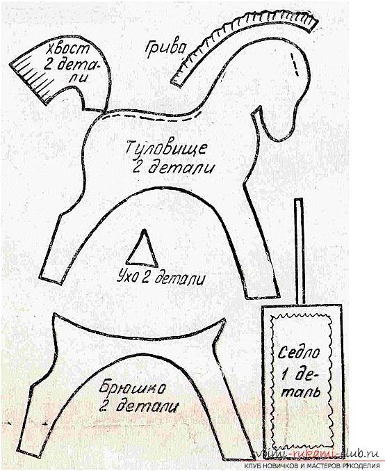 Как сшить игрушку лошадки своими руками