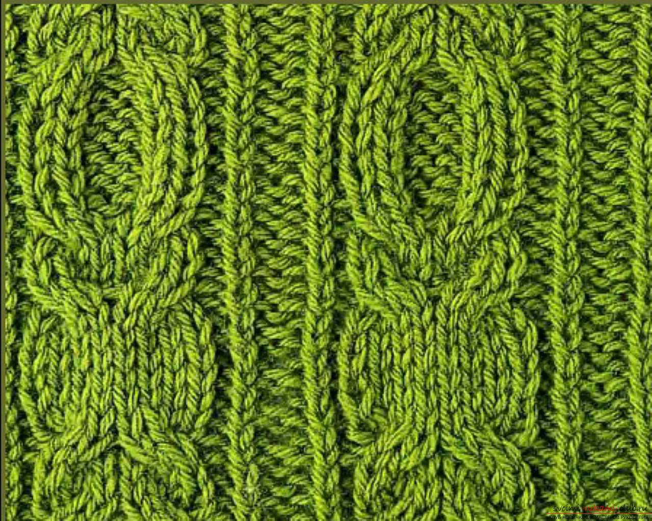 Простые схемы вязания на спицах для начинающих видео