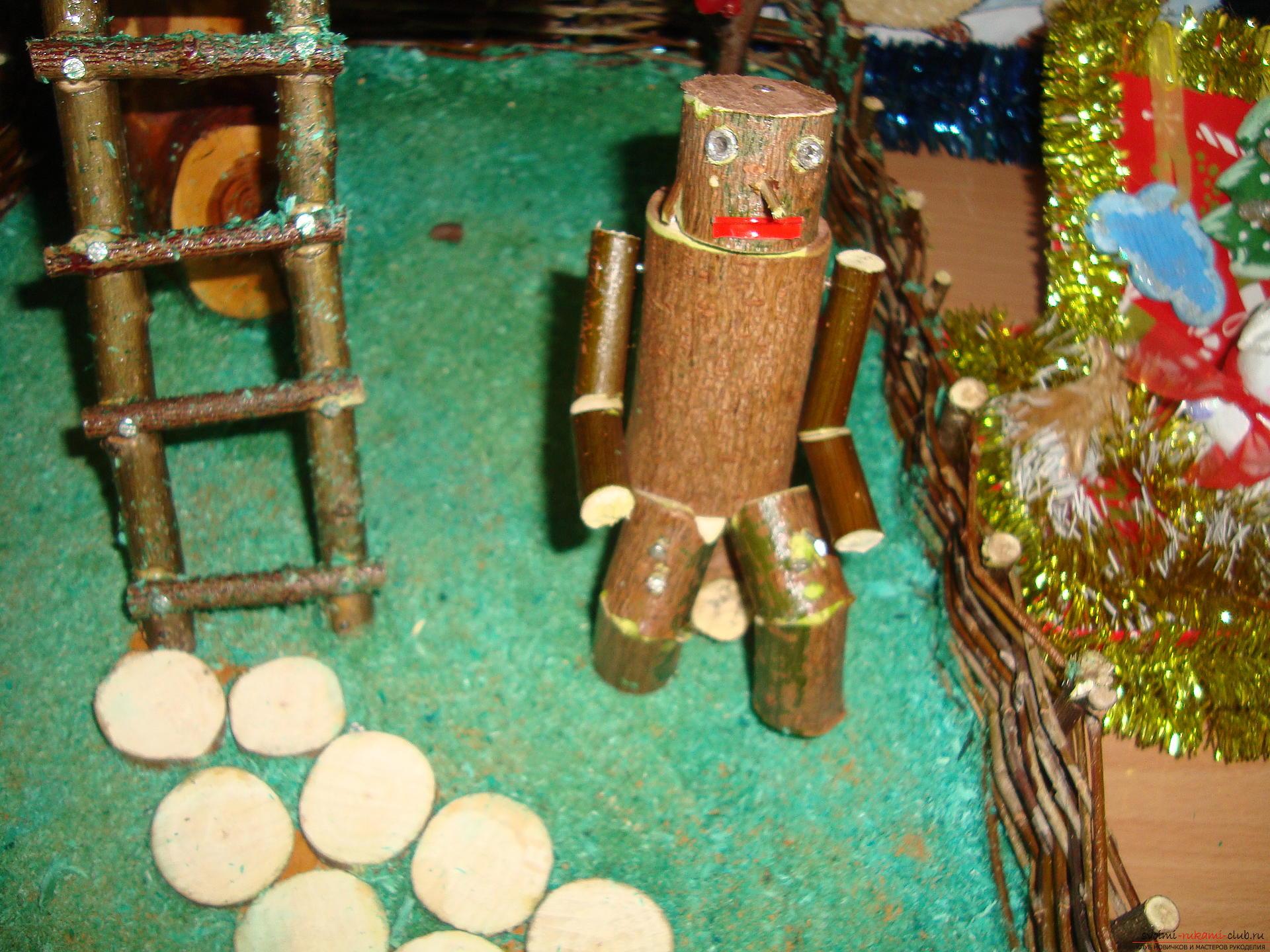 Если вы хотите узнать как делать своими руками поделки из дерева и веток, загляните в наш мастер-класс.. Фото №2