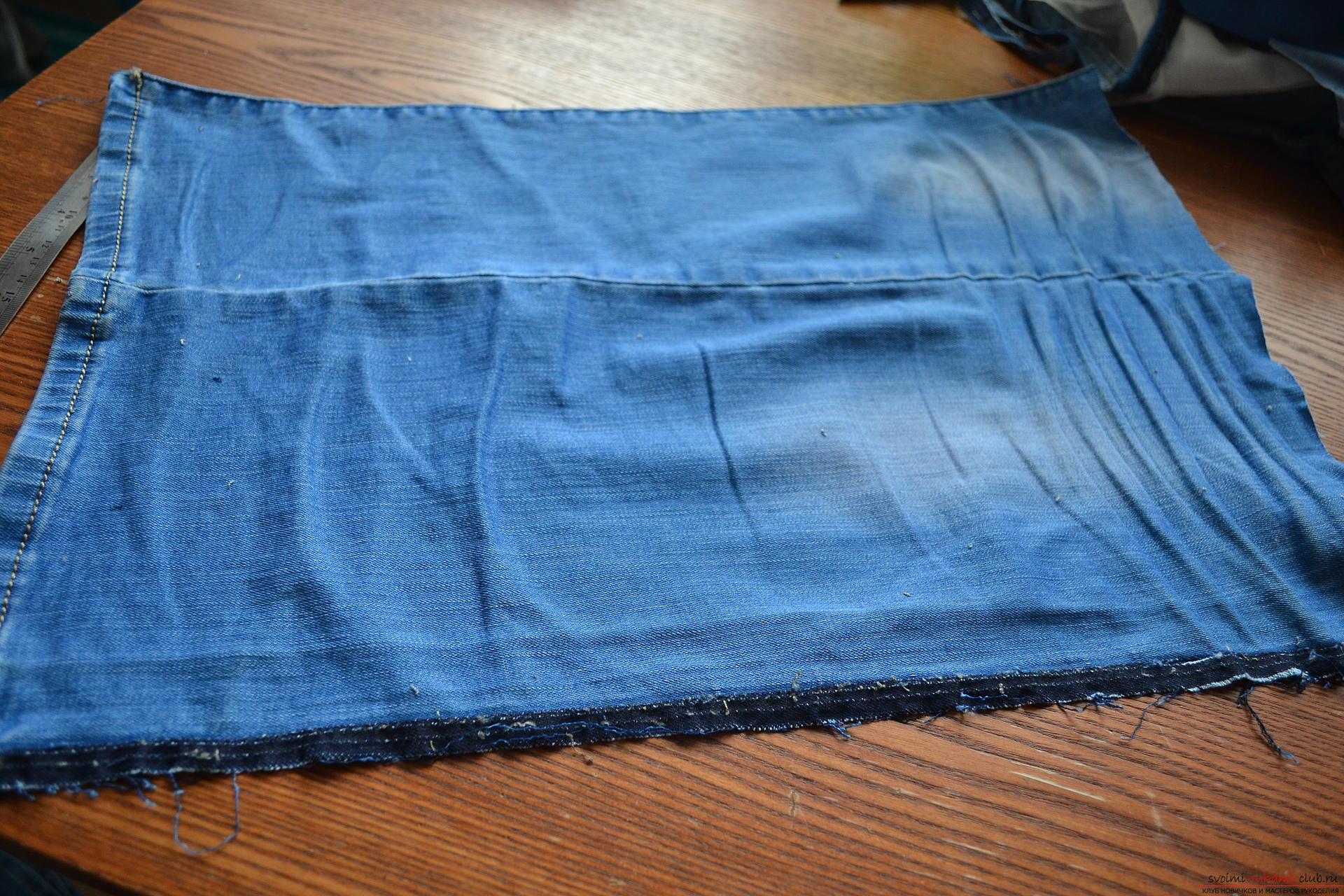 Как из старых джинсов сшить джинсы ребенку из старых джинс