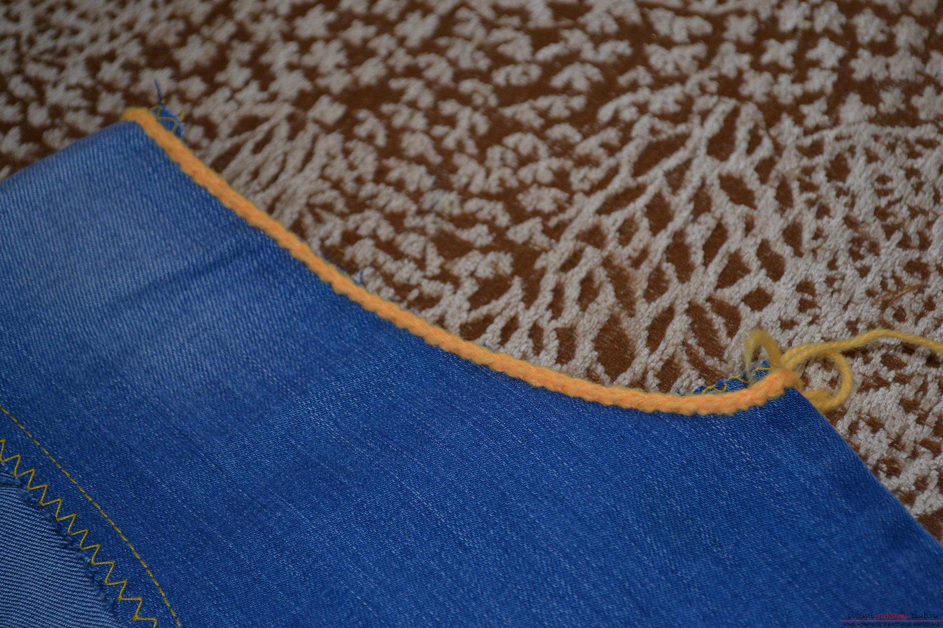 Жилетка из старых джинсов своими руками: как сшить, выкройки 4