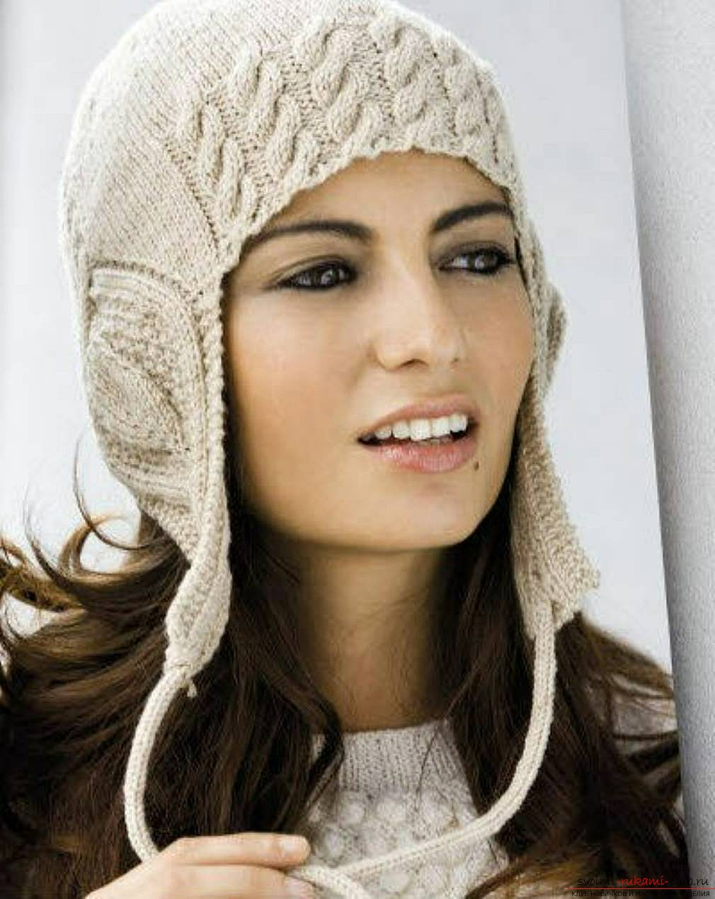 красивые шапки спицами схемы