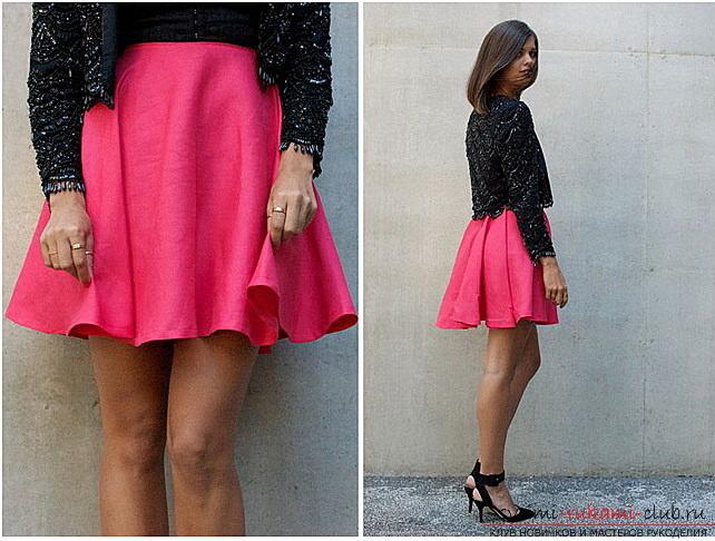 Фатиновая юбка своими руками - Своими руками