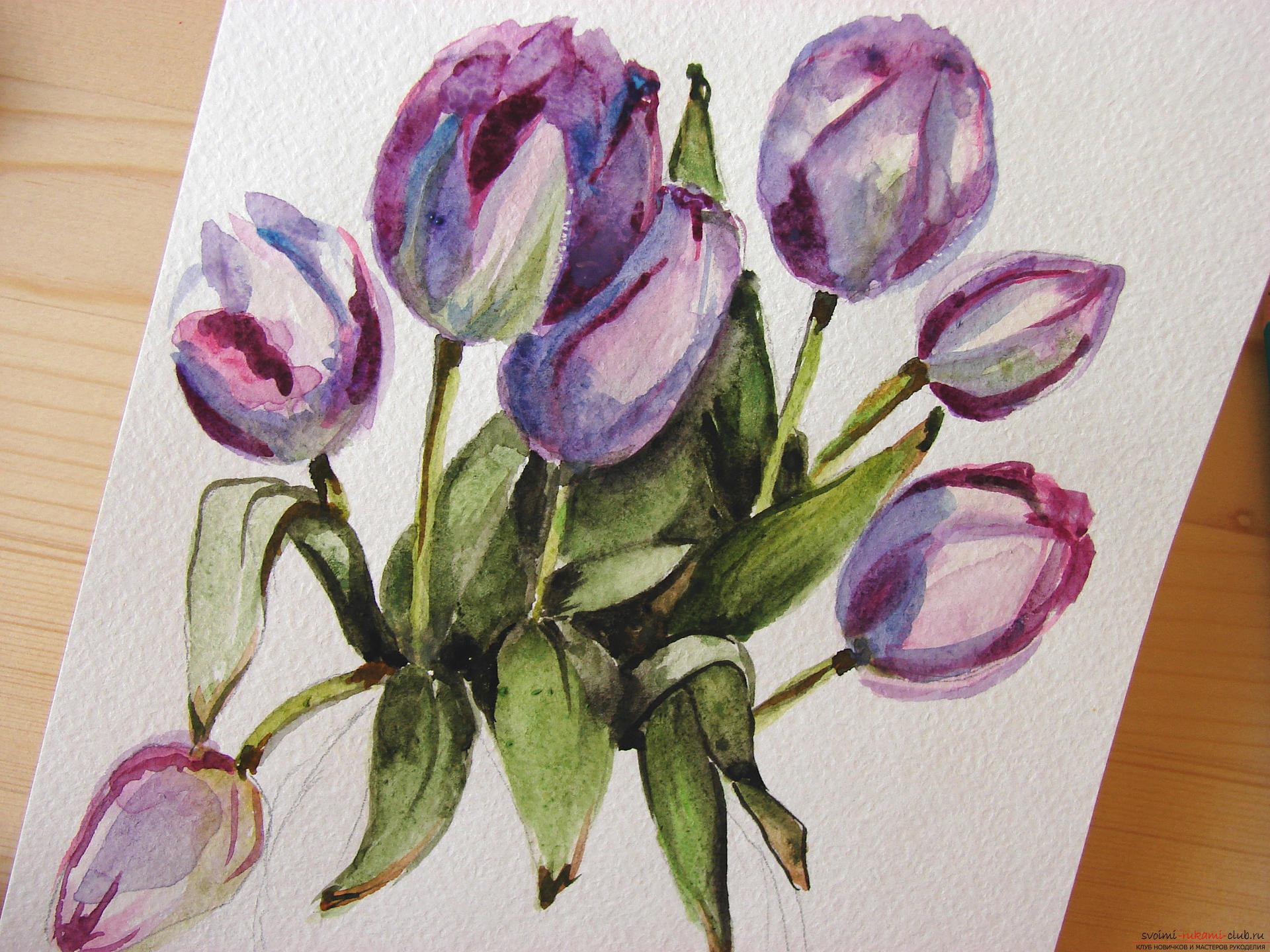Цветы в рисунке фото