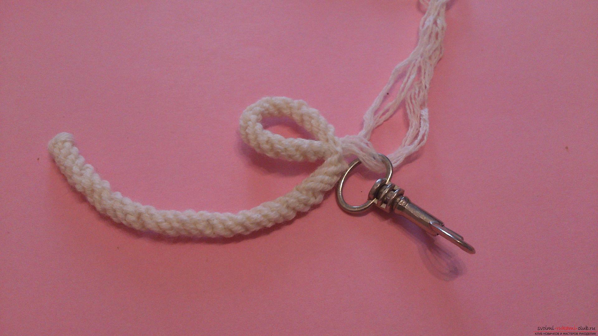 Как сделать нитку для брелка 825