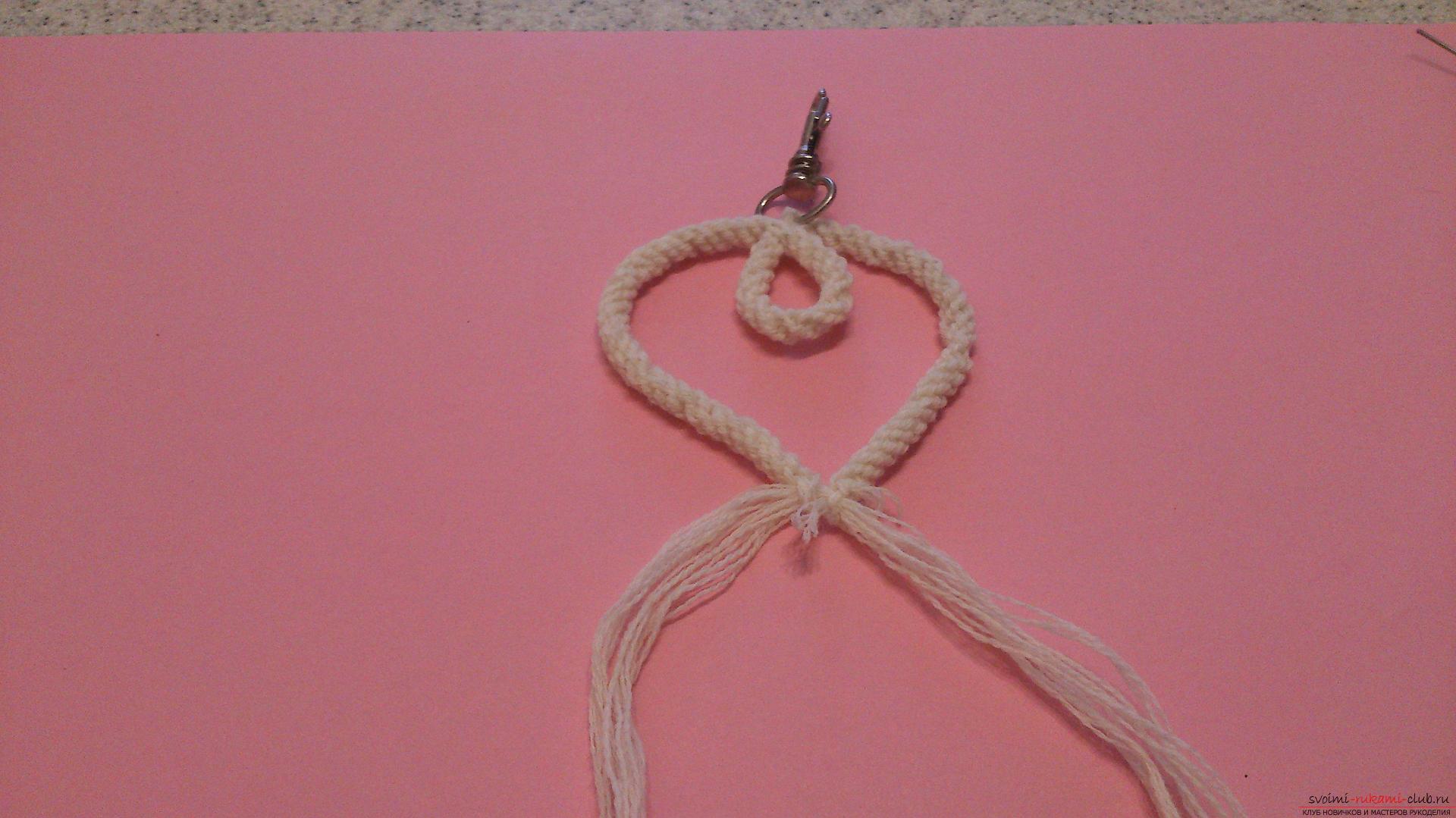 Как сделать нитку для брелка 376