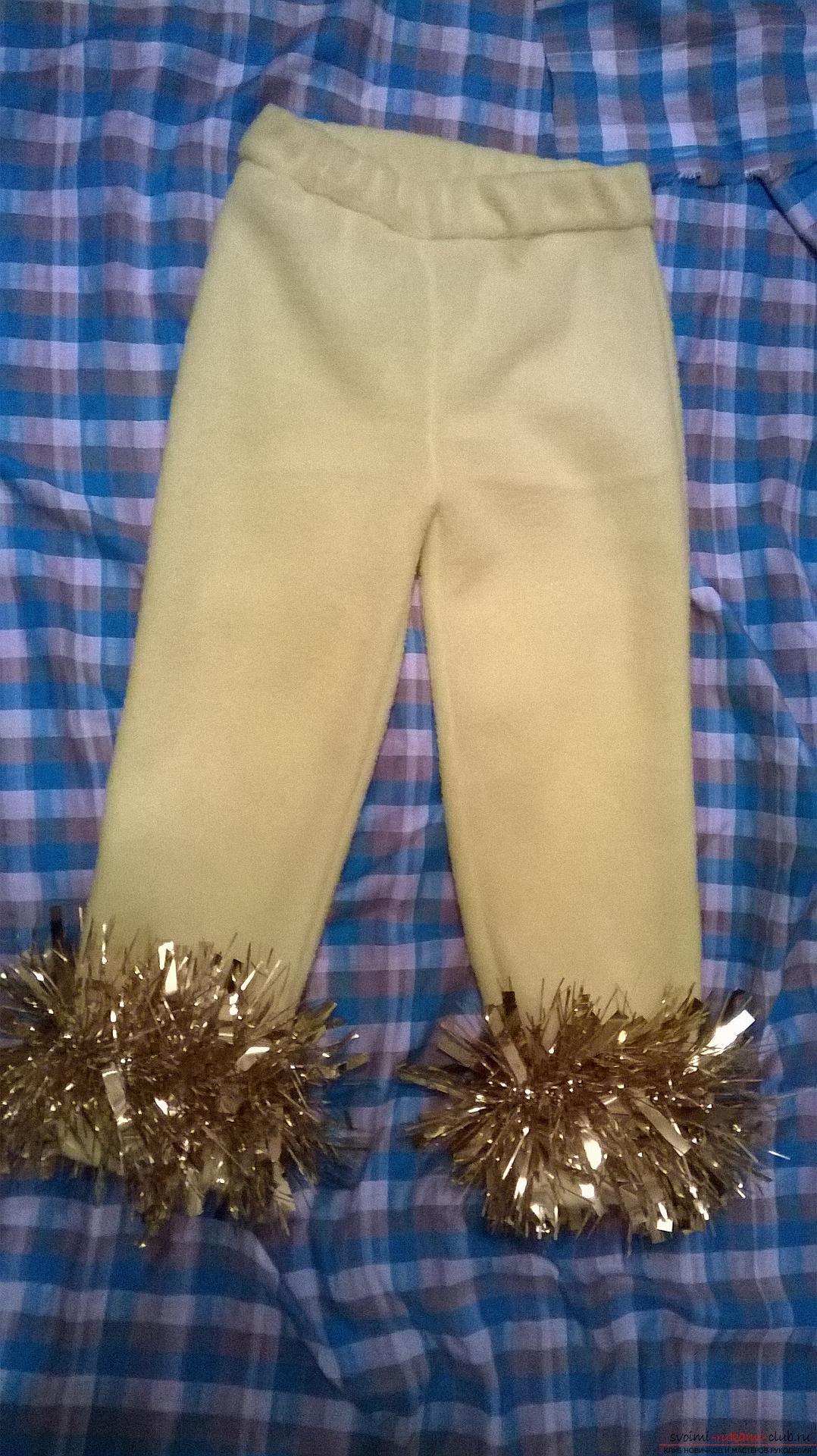 Подробный мастер-класс научит как сшить штаны для ребенка своими руками быстро и просто, без выкройки.. Фото №20