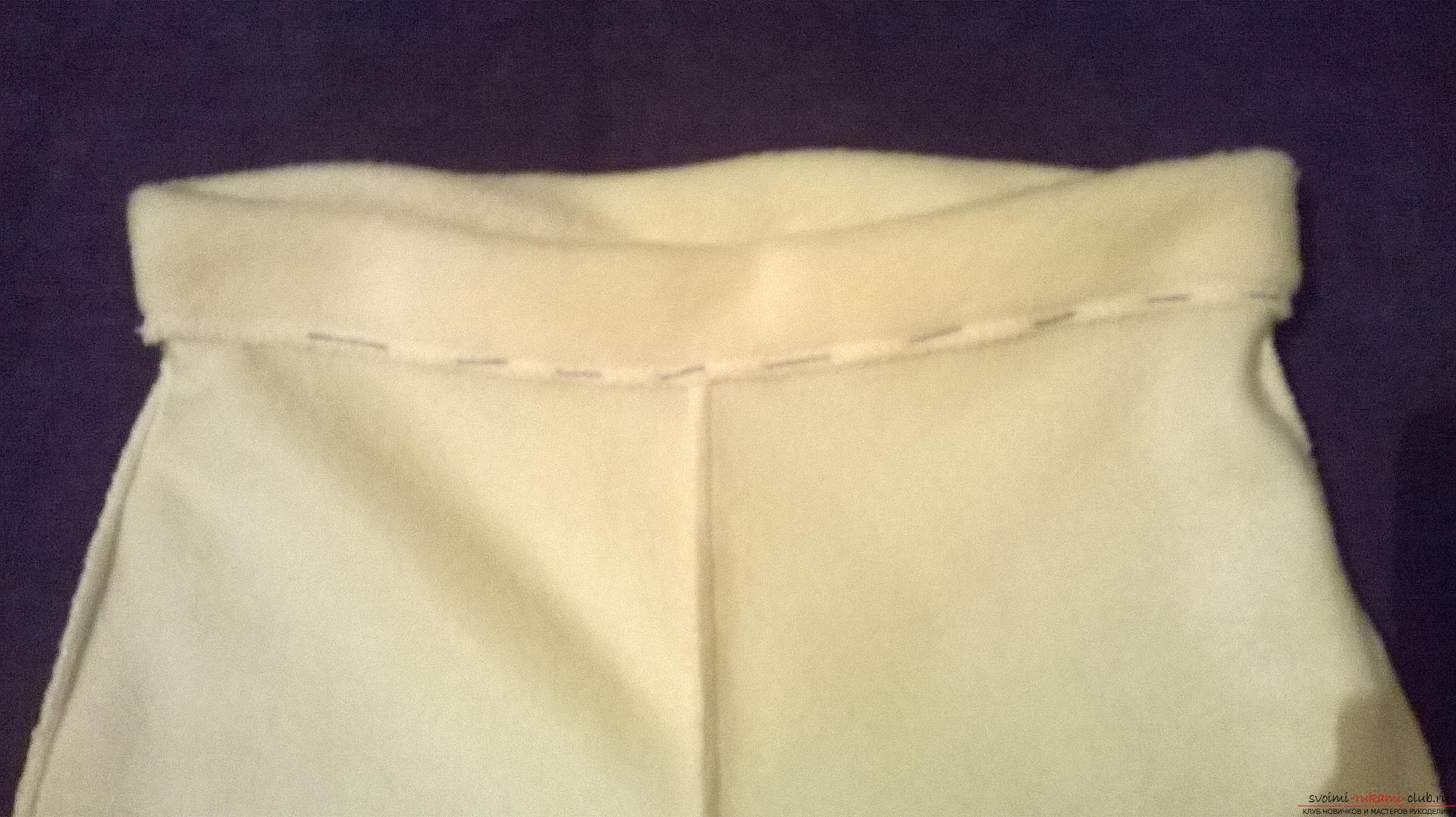Подробный мастер-класс научит как сшить штаны для ребенка своими руками быстро и просто, без выкройки.. Фото №13