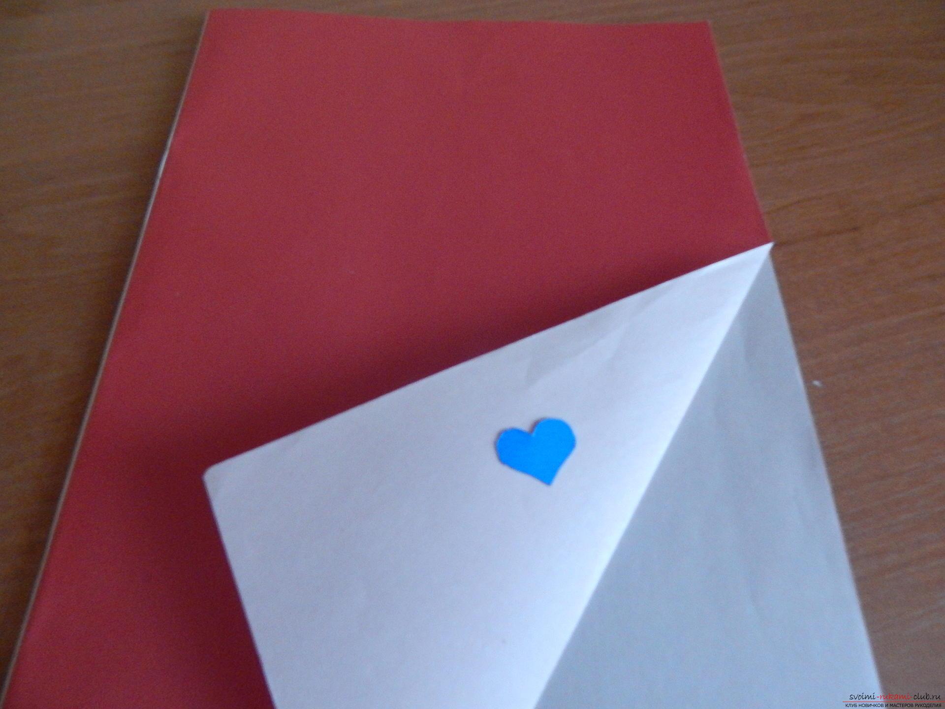 Этот подробный мастер-класс научит как сделать своими руками календарь - подарок на День влюбленных. Фото №5