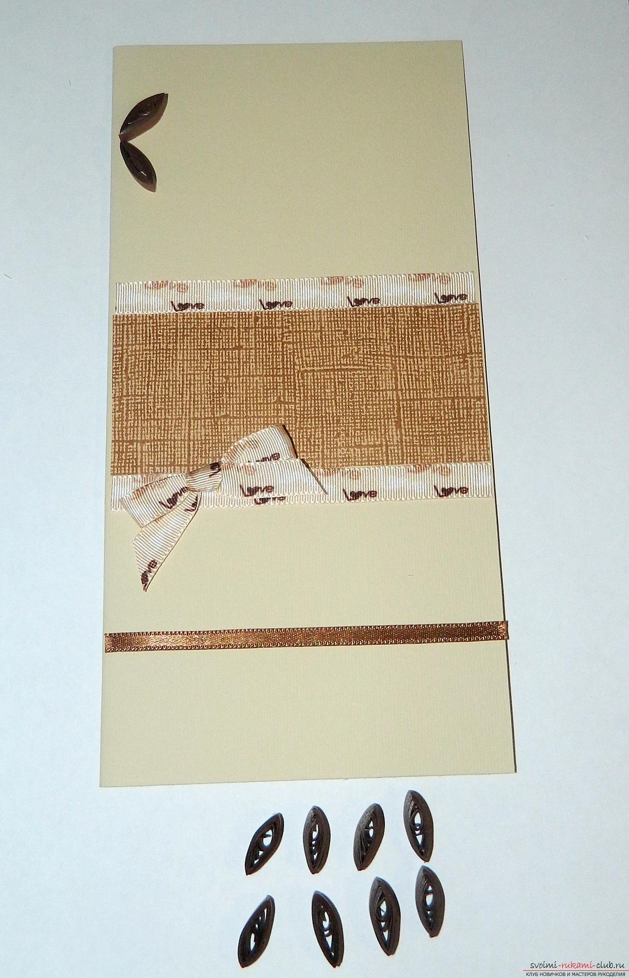 Этот мастер-класс научит как сделать классическую открытку с днем рождения своими руками.. Фото №12