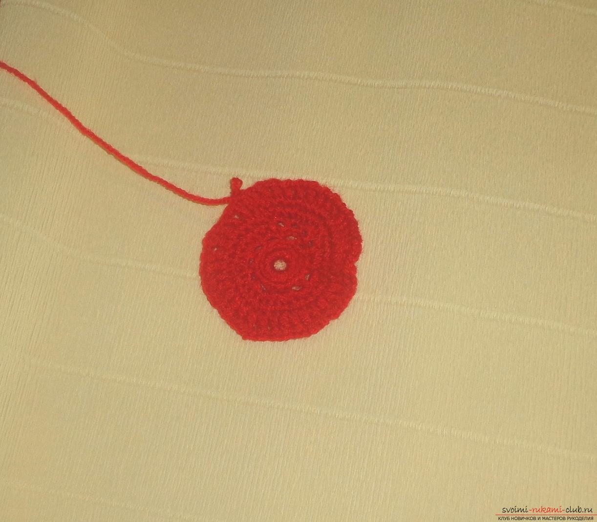 Вязание крючком пошагово детская шапочка