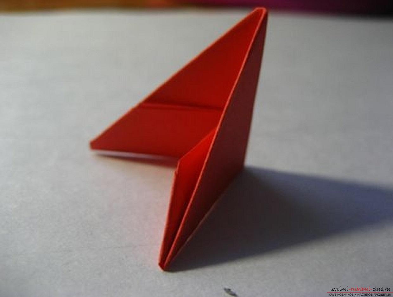 модульное оригами ромашка. Фото №32