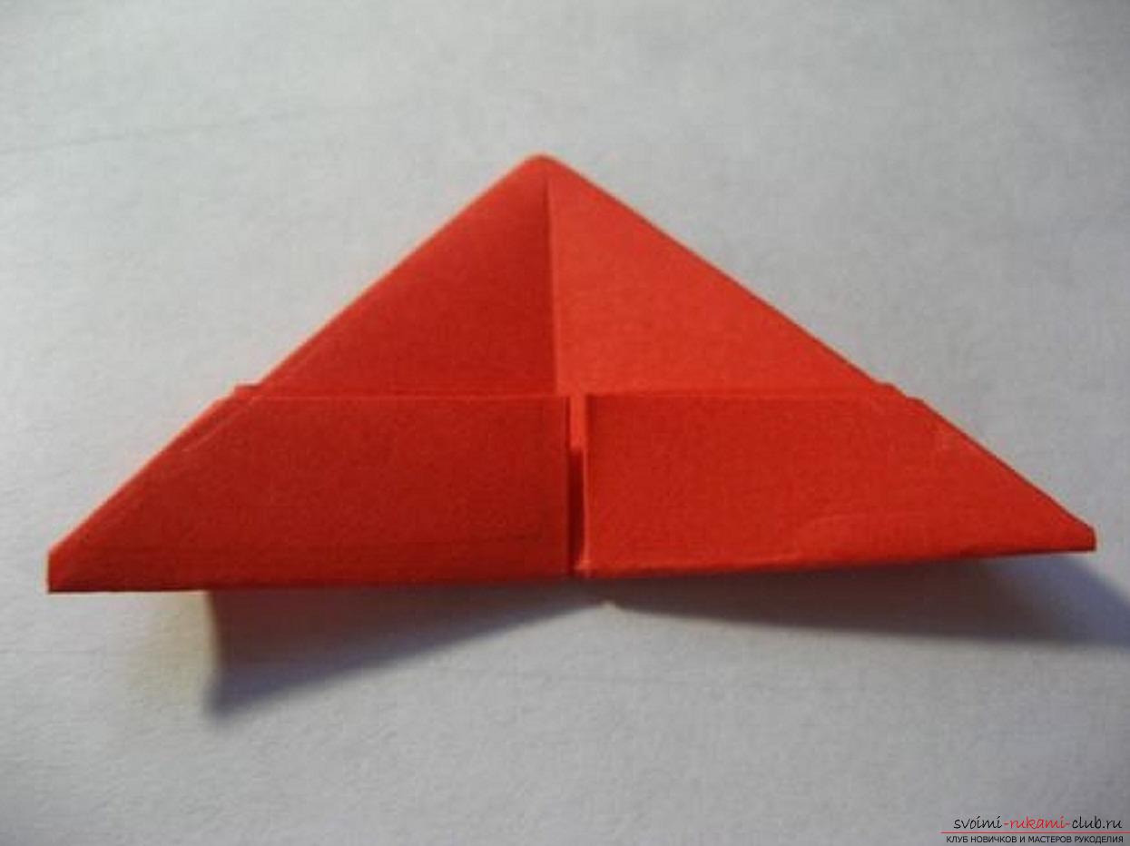 модульное оригами ромашка. Фото №30