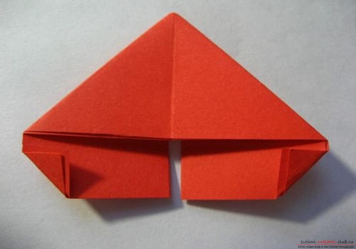 модульное оригами ромашка. Фото №31