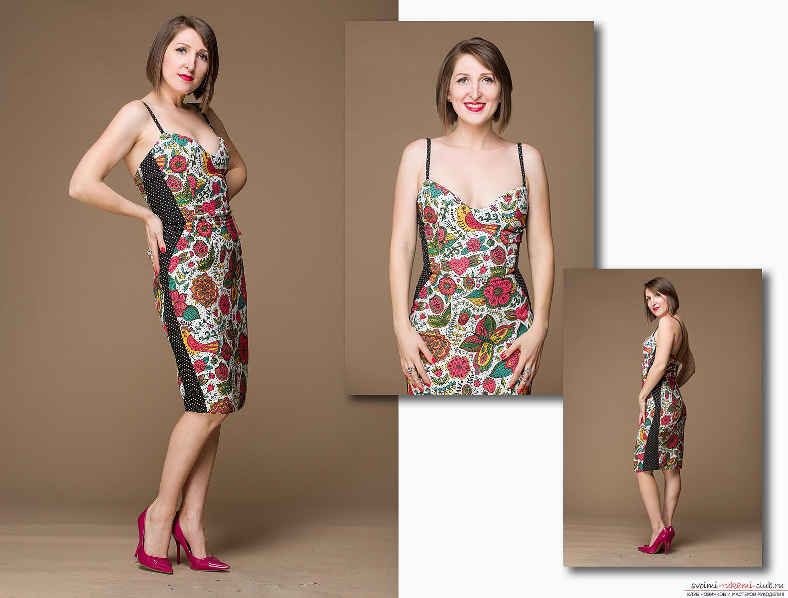 Шьем коктейльное платье своими руками видео