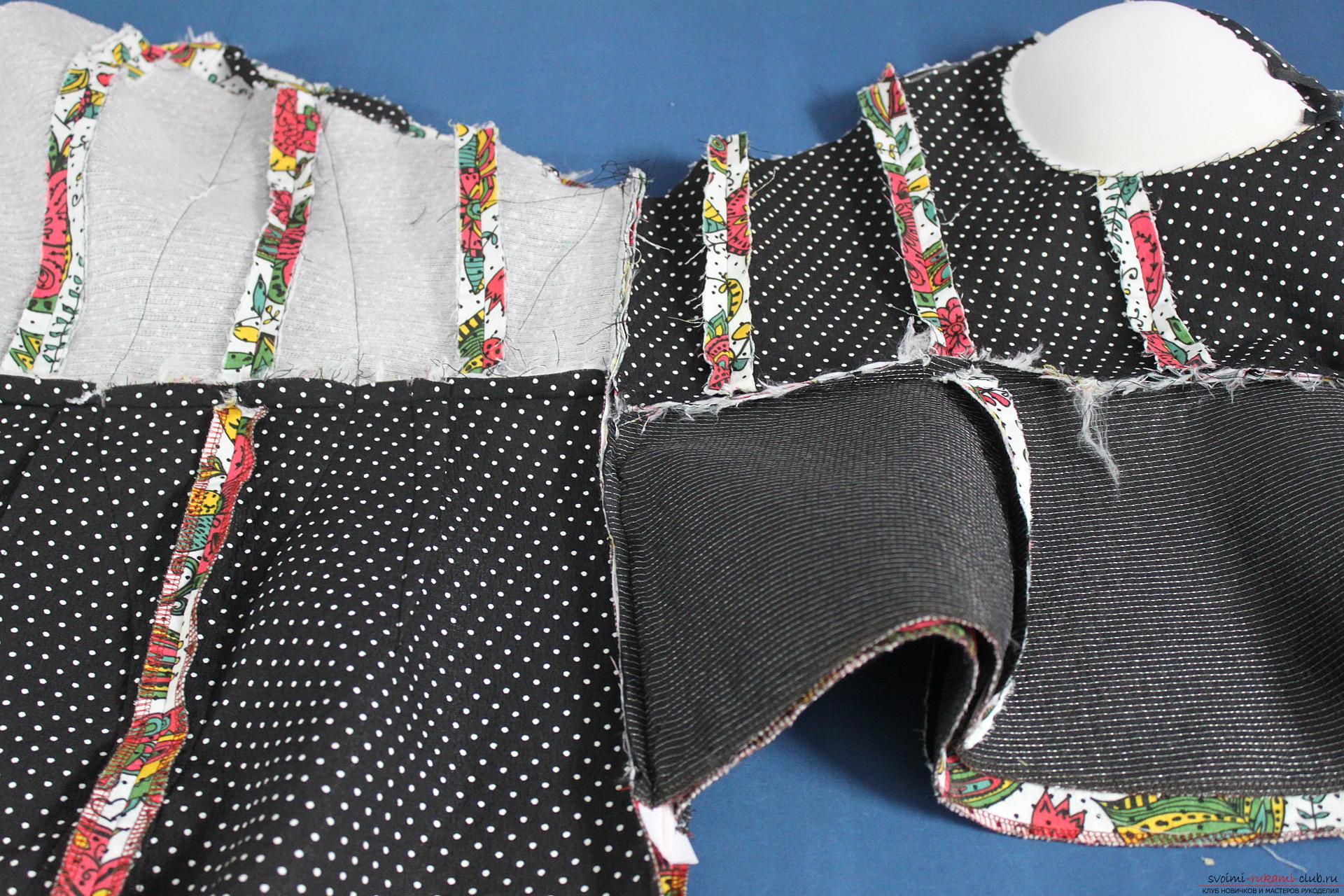 Как быстро сшить платье своими руками без выкройки. Видео МК 88