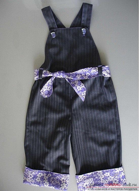 как сшить детские штаны пошаговая фото инструкция - фото 2
