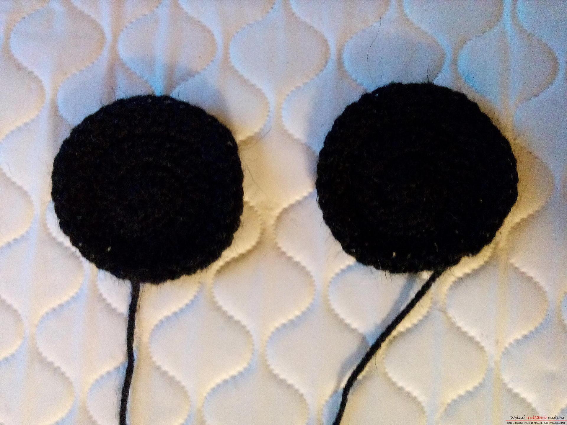 Пошаговое описание и фото вязания крючком комплекта для мальчика из шапочки и шарфа. Фото №11