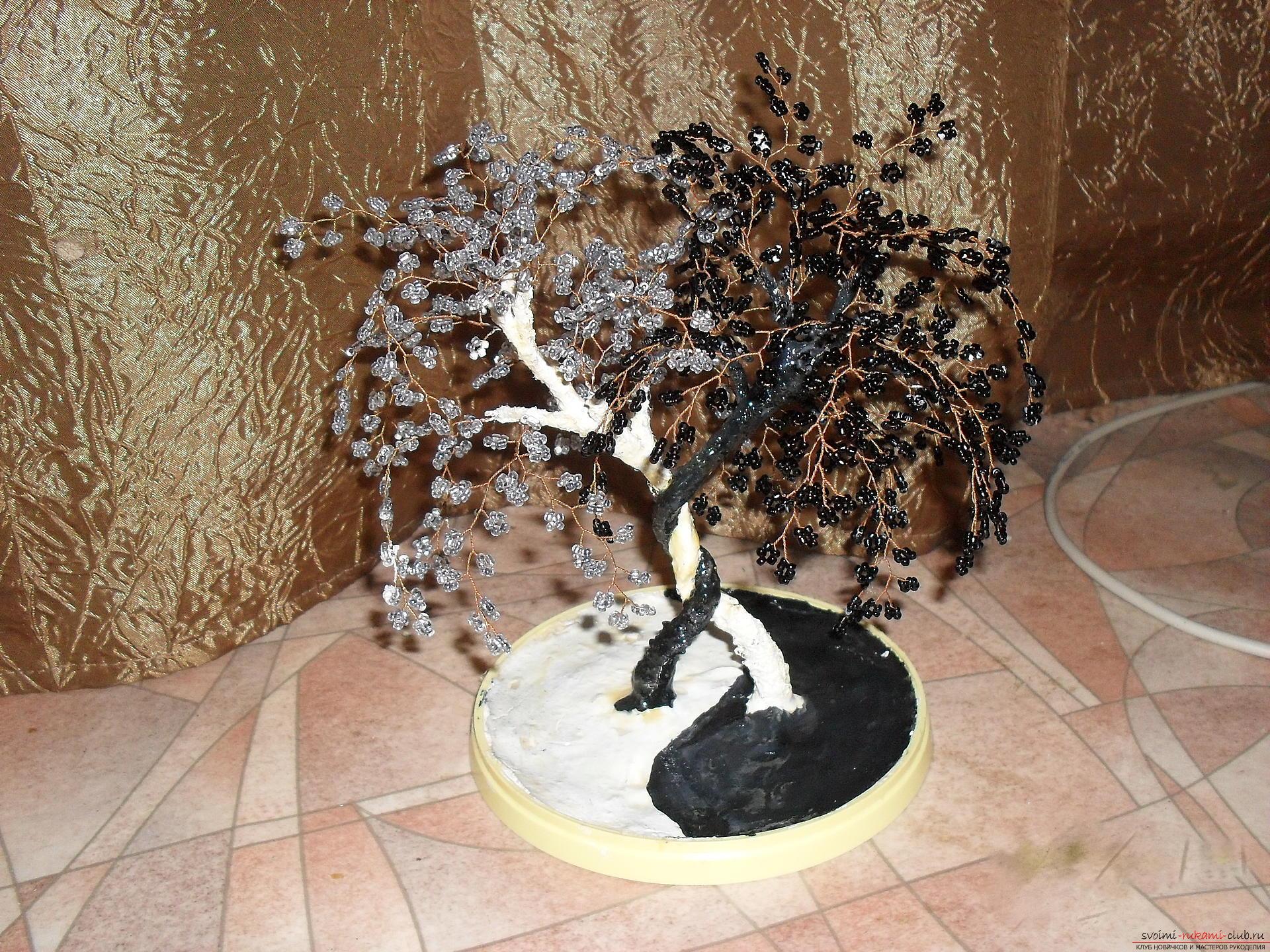 Дерево инь янь бисера своими руками фото 200