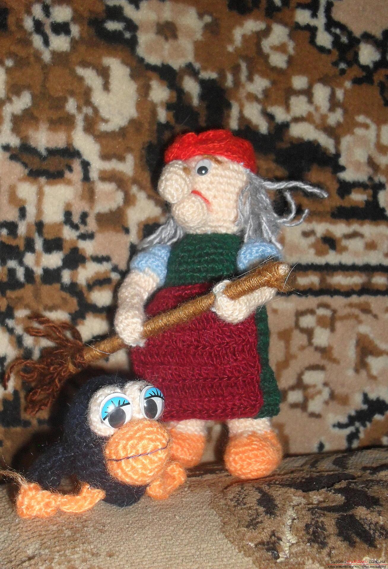 схемы вязание спицами для детей персонажи из сказок
