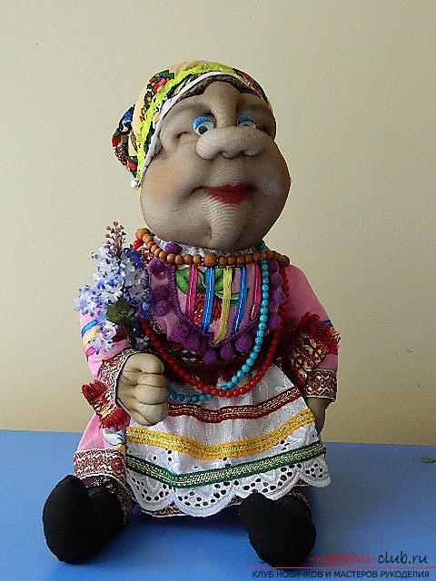 Национальная мордовская кукла. Фото №1