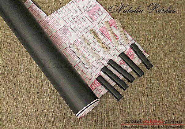 Мастер-класс: рояль из конфет. Фото №6