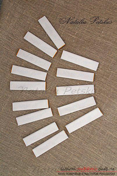 Мастер-класс: рояль из конфет. Фото №4