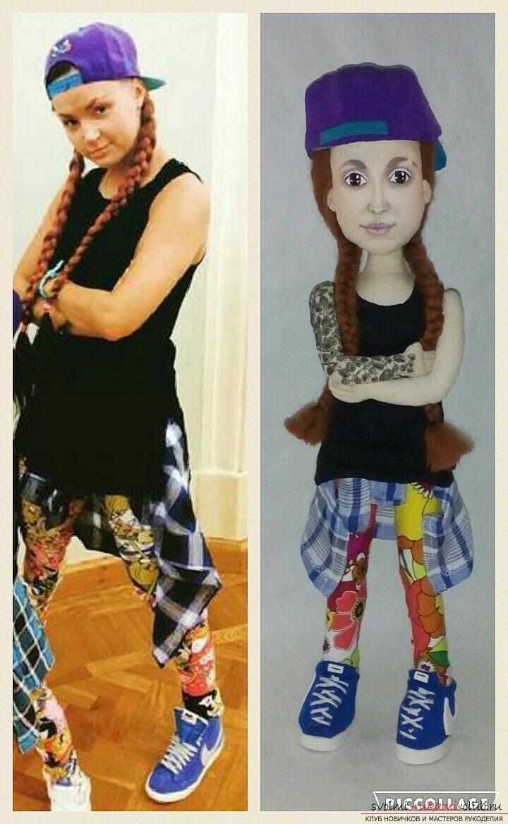 Портретная кукла своими руками