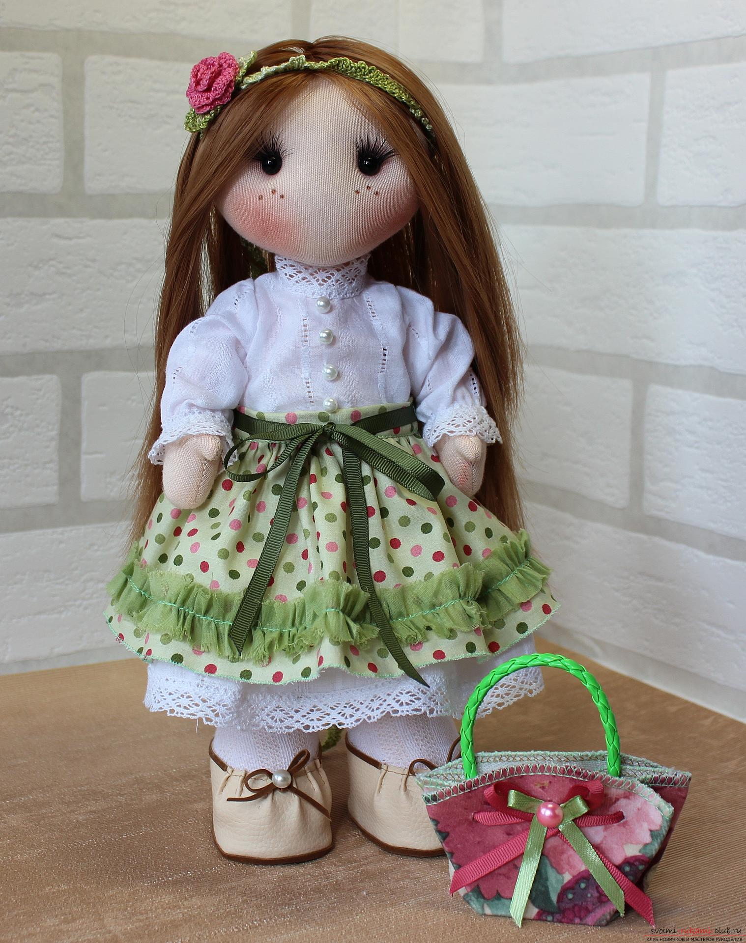 Маленькие куколки своими руками из ткани