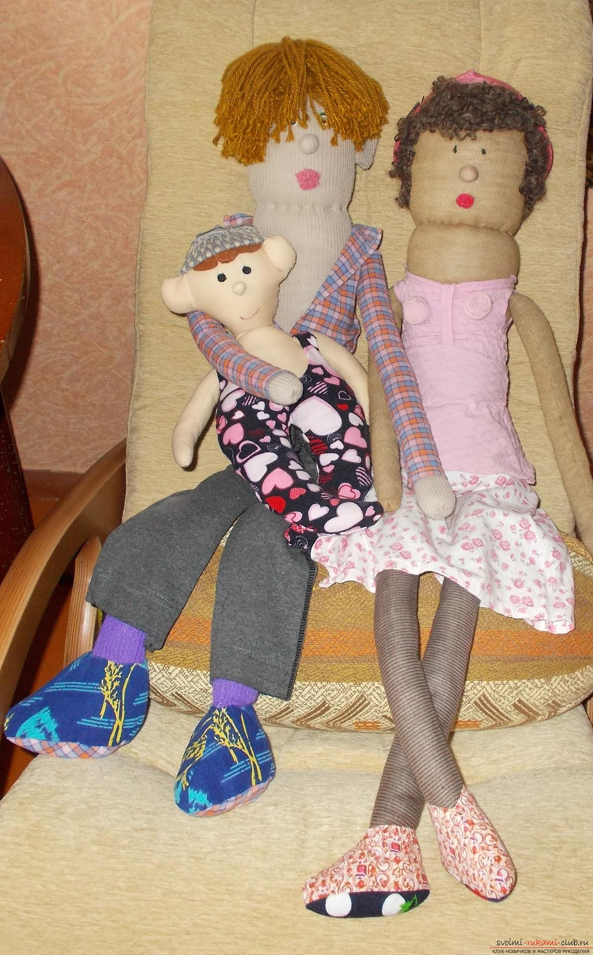 Куклы сшитые руками фото