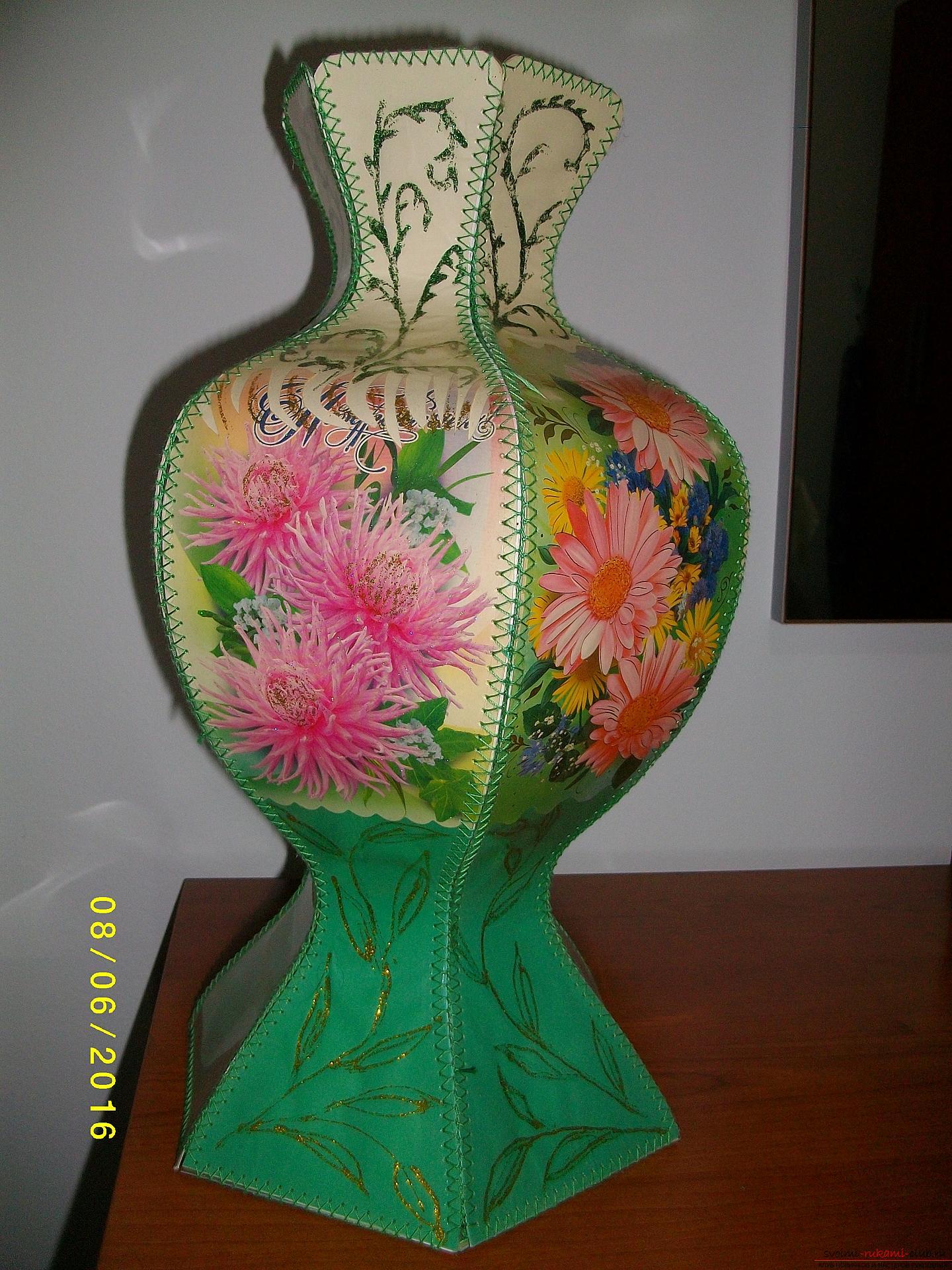 Поделка в вазе фото