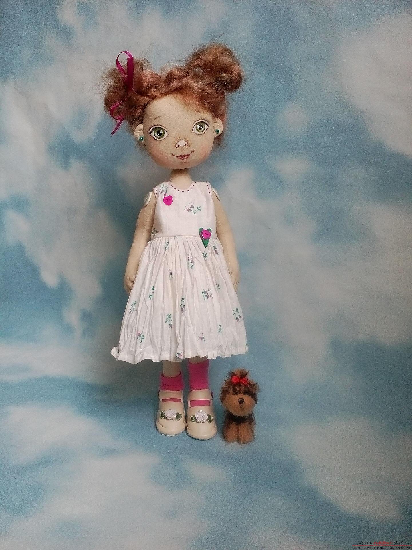 Каркасная кукла своими руками 8
